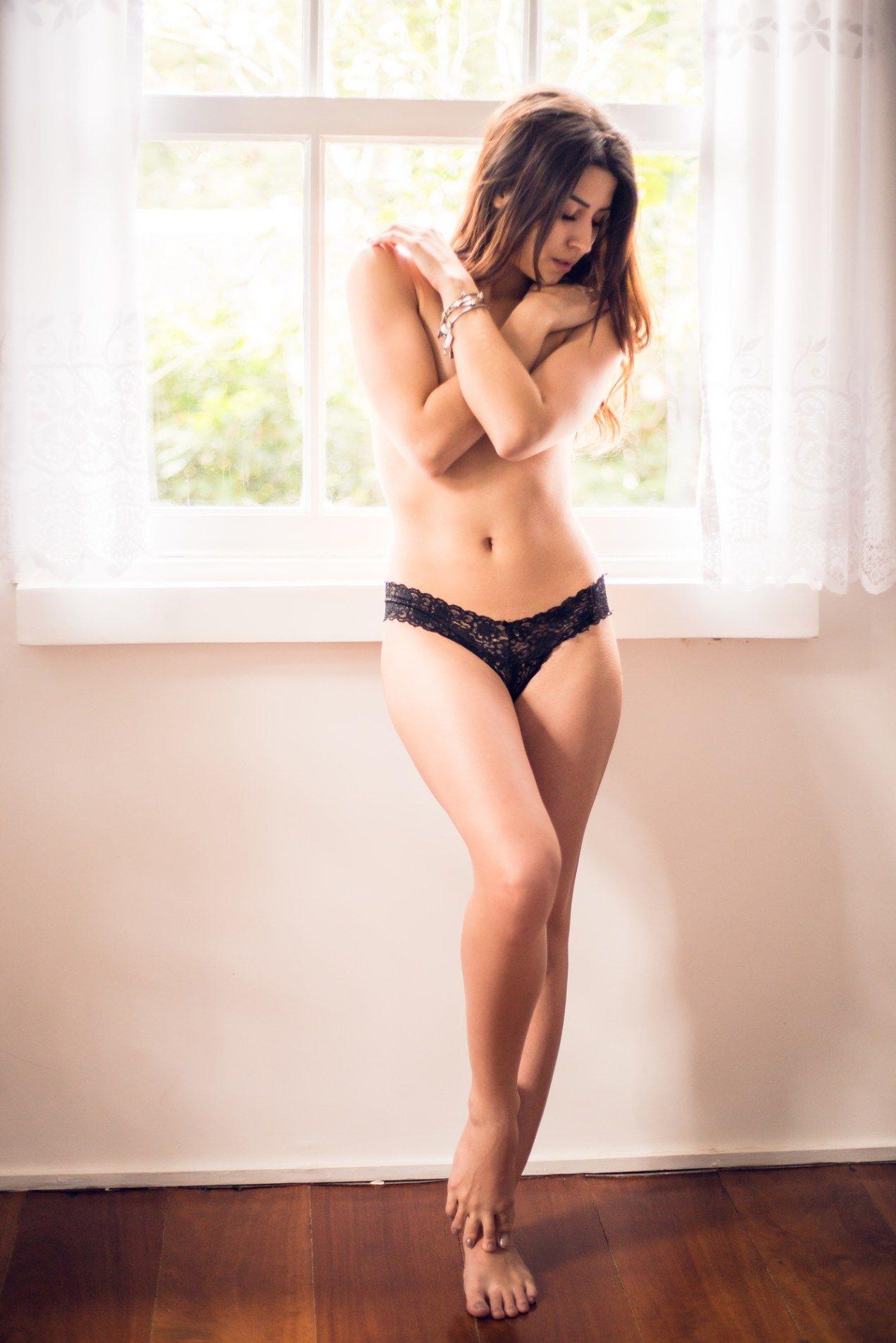 Lingerie de mulher sexy Fotografias de Banco de