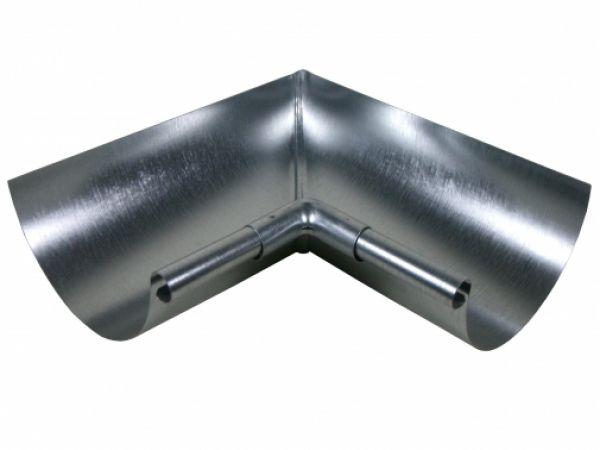 Galvanized Miters Half Round Miters Gutter Supply Galvanized Mitered Galvanized Gutters