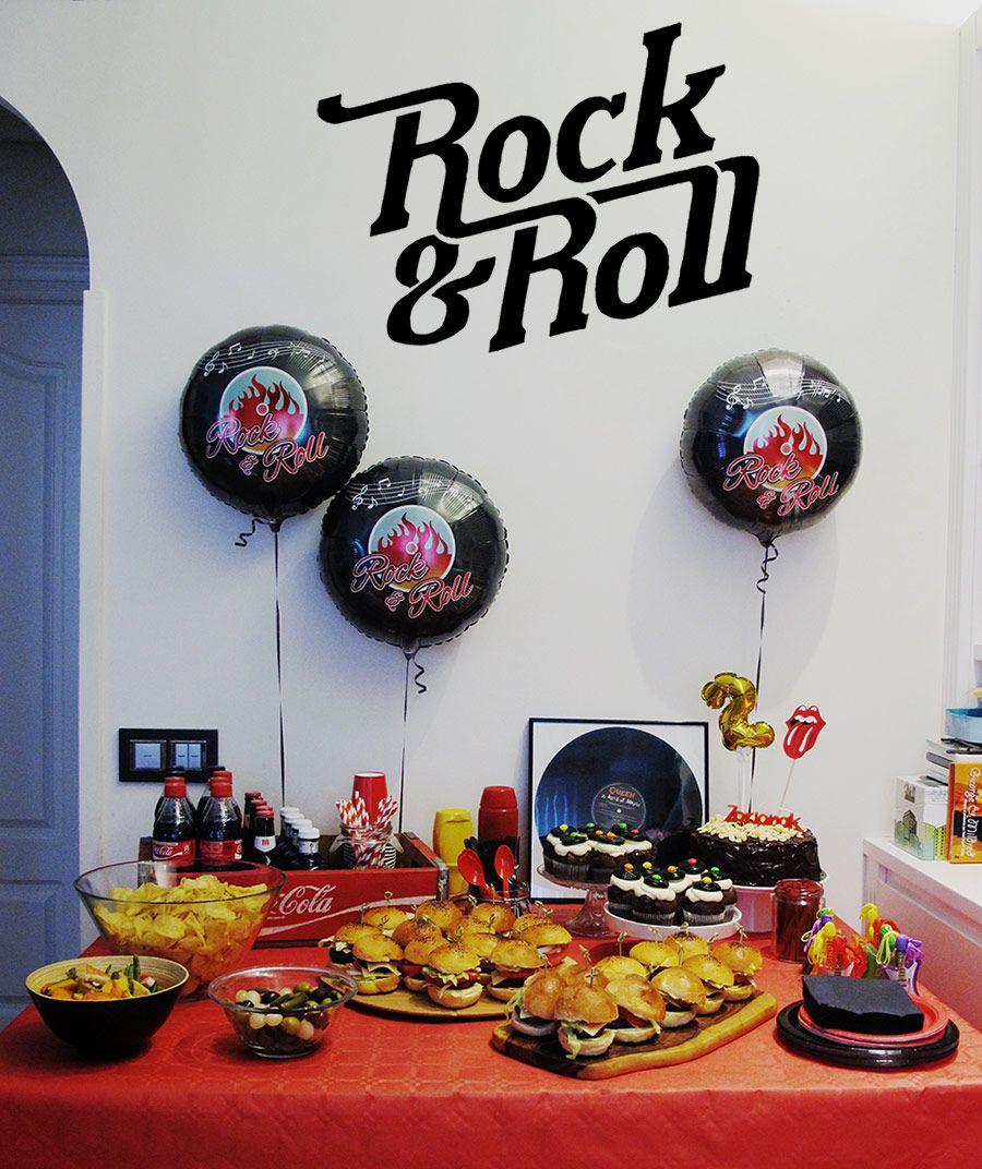 Fiesta Tematica De Rock Roll Blog Www Micasaencualquierparte Com