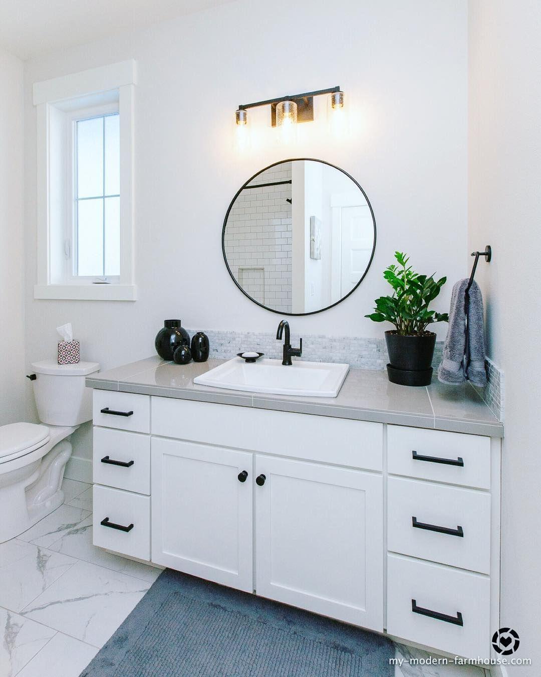 Bathroom Design Ideas Bathroom Mirror Lighting Modern Trendy Bathroom Tiles Bathroom Tile Diy [ 1350 x 1080 Pixel ]
