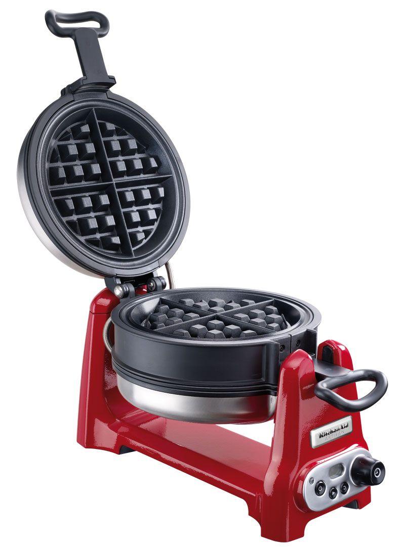 KitchenAid Online-Store - ARTISAN® Waffeleisen EMPIRE ROT ARTISAN ...