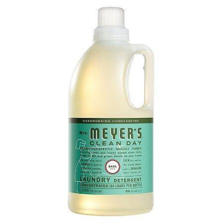 Mrs Meyer S Laundry Detergent 2x Basil 64 Oz Target