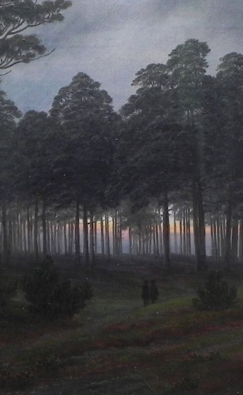 The Evening Painting New Poster 1821 Caspar David Friedrich The Times Of Day