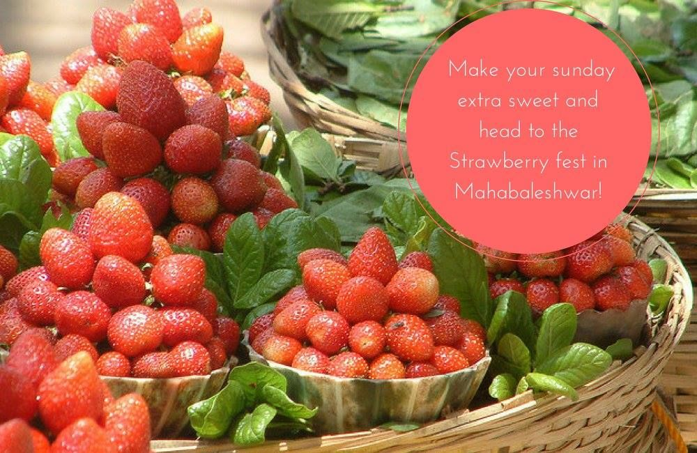 Indulge this weekend the StrawberryFest in