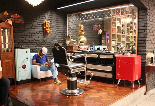 Retro Hair So Paulobrazil Berber In 2019 Pinterest Barber