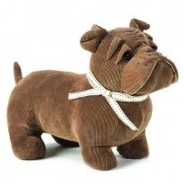 And this reminds me of Gustav a little bit. A Bulldog doorstop.