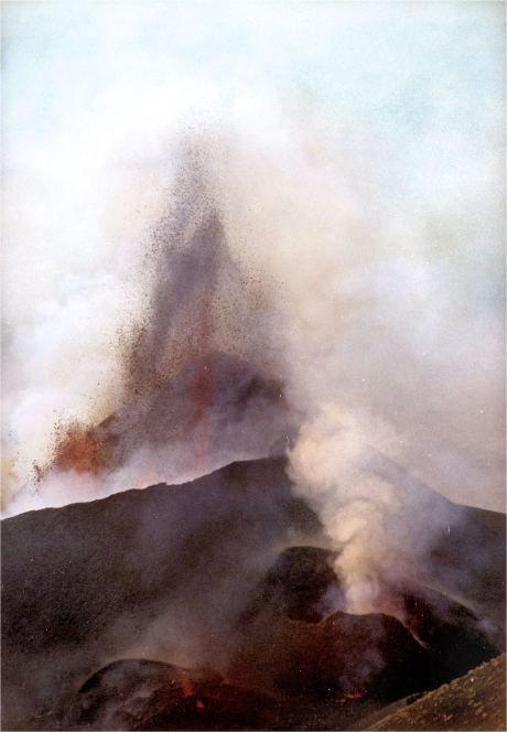 Volcán Teneguia,La Palma,Islas Canarias