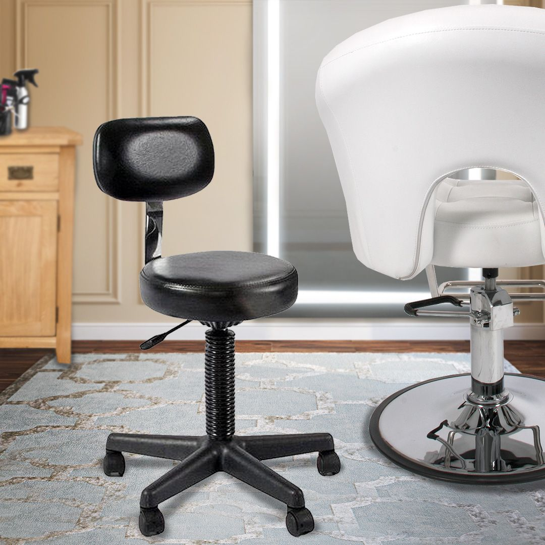 Let Your Salon And Pedicure Business Bloom In Style With The Lilac Cutting Stool
