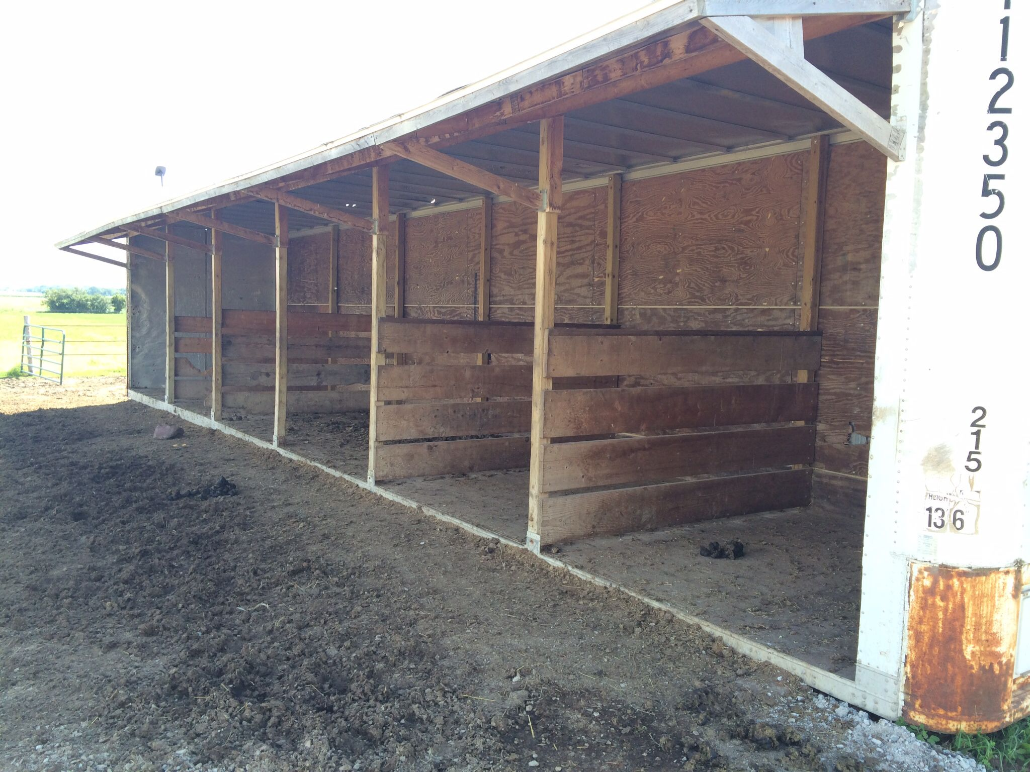 Shipping Container Horse Barn