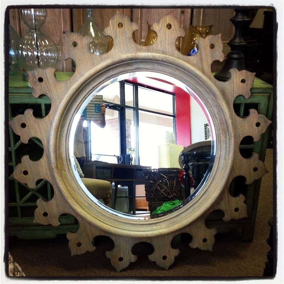 Old World Influenced Statement Mirror! Perfect For That