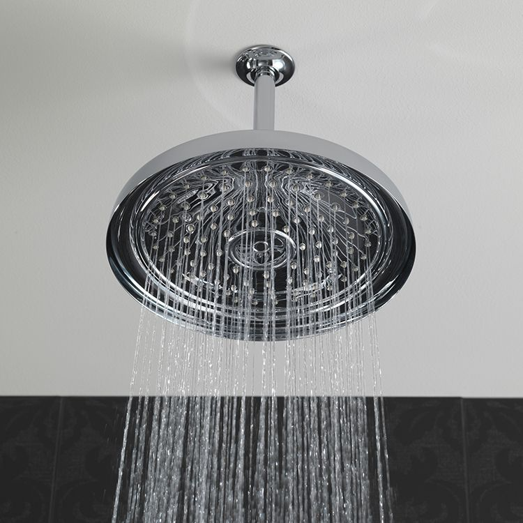 Traditional Ceiling Mount Raincan Shower Head | Ceilings ...