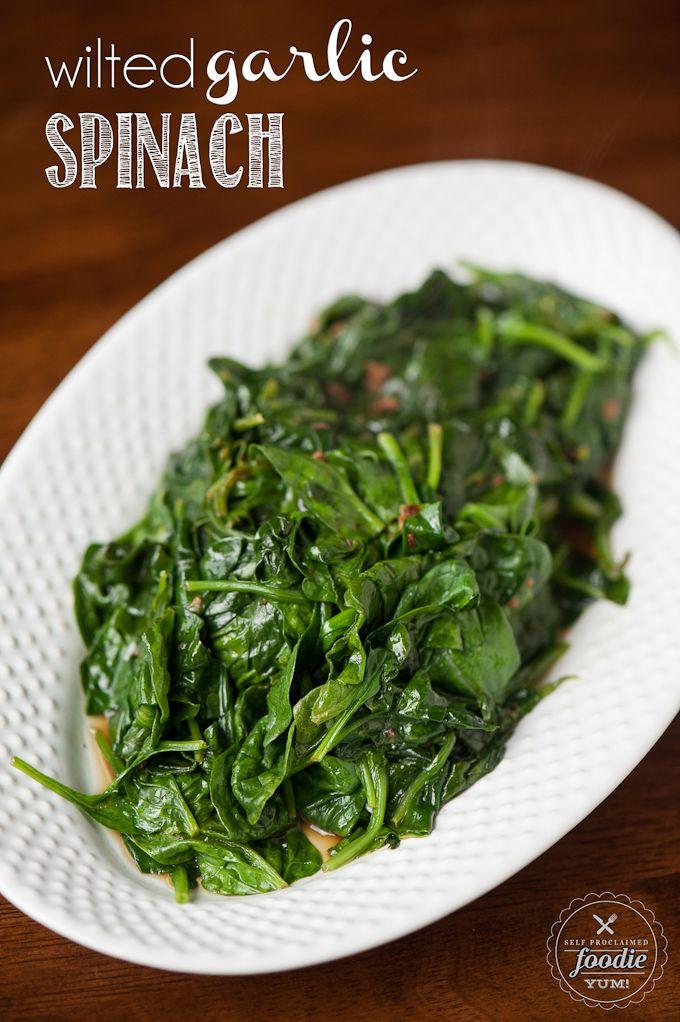 Wilted Garlic Spinach #dan330 http://livedan330.com/2015/06/22/wilted-garlic-spinach/