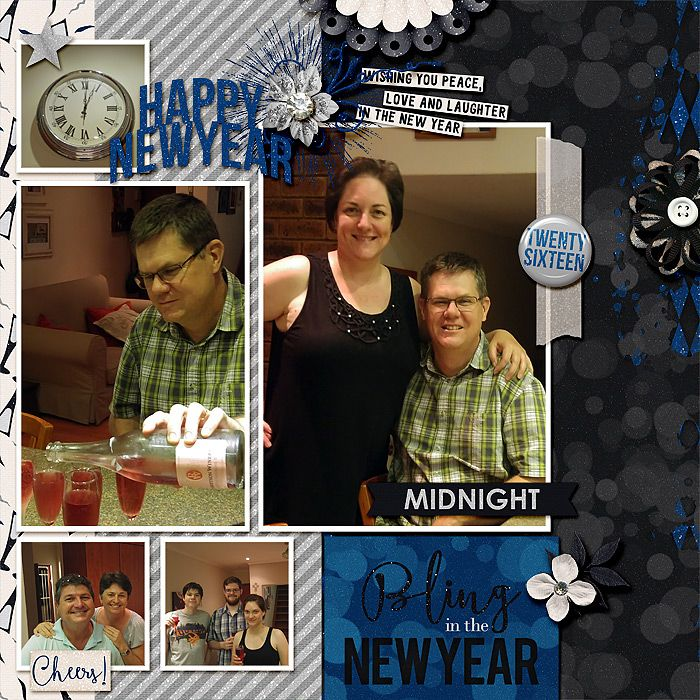 I used Celebrate : A New Year by Amanda Yi Designs and Libby Pritchett. Template is Next Saturday {Dressed up} by Fiddle Dee Dee Designs.