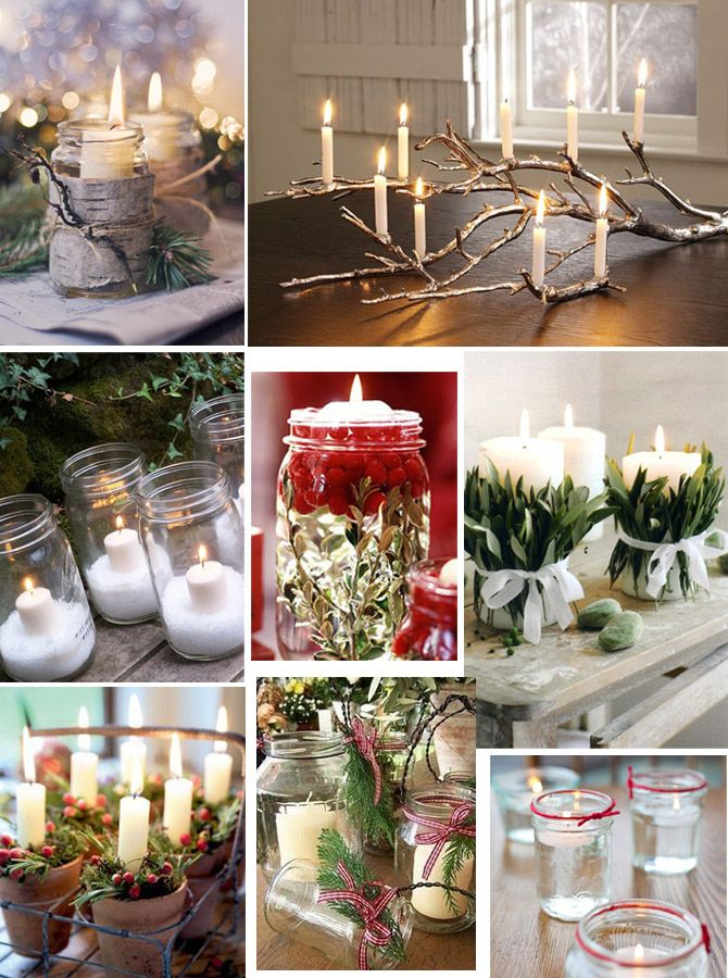 Christmas Candle Ideas On Pinterest