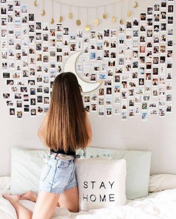 29 Ideas Para Collage De Fotos Para Decorar Tu Cuarto With