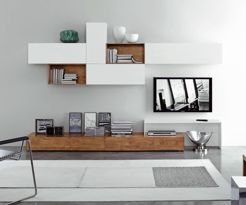 Livitalia Wohnwand C22b Wohnen Wohnzimmerwand Wohnung Einrichten