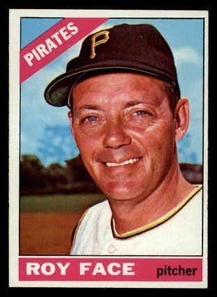 Elroy Leon Face Born Feb 20 1928 In Stephentown New York Is A Former Mlb Right Handed Reli Pittsburgh Pirates Baseball Old Baseball Cards Pirates Baseball