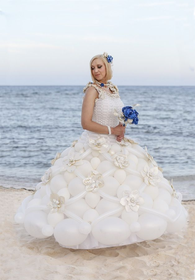 Balloon Dresses Balloon Dress Traditional Wedding Dresses