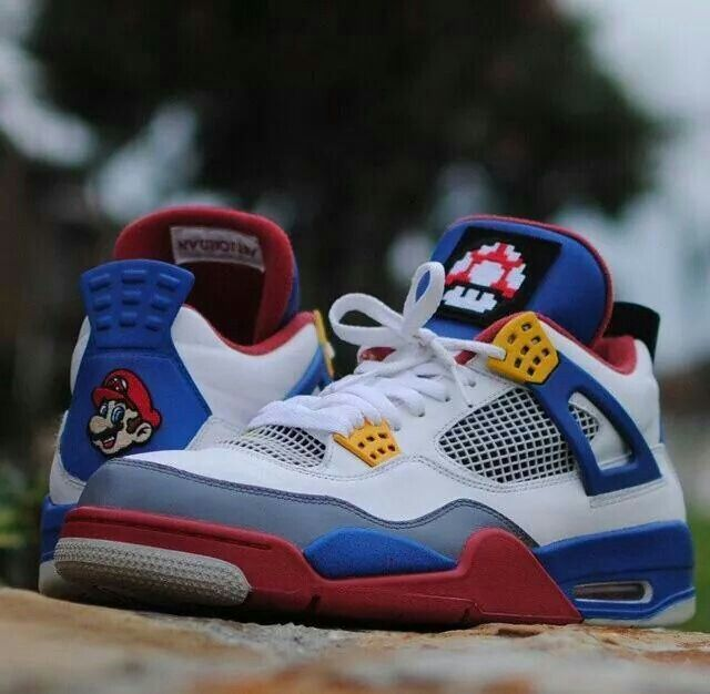 newest collection 8aa9f 10414 Super mario air Jordan 4 s