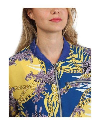 670c83f17ce14 Blouson Teddy Femme VERSACE JEANS   Street wear   Pinterest ...