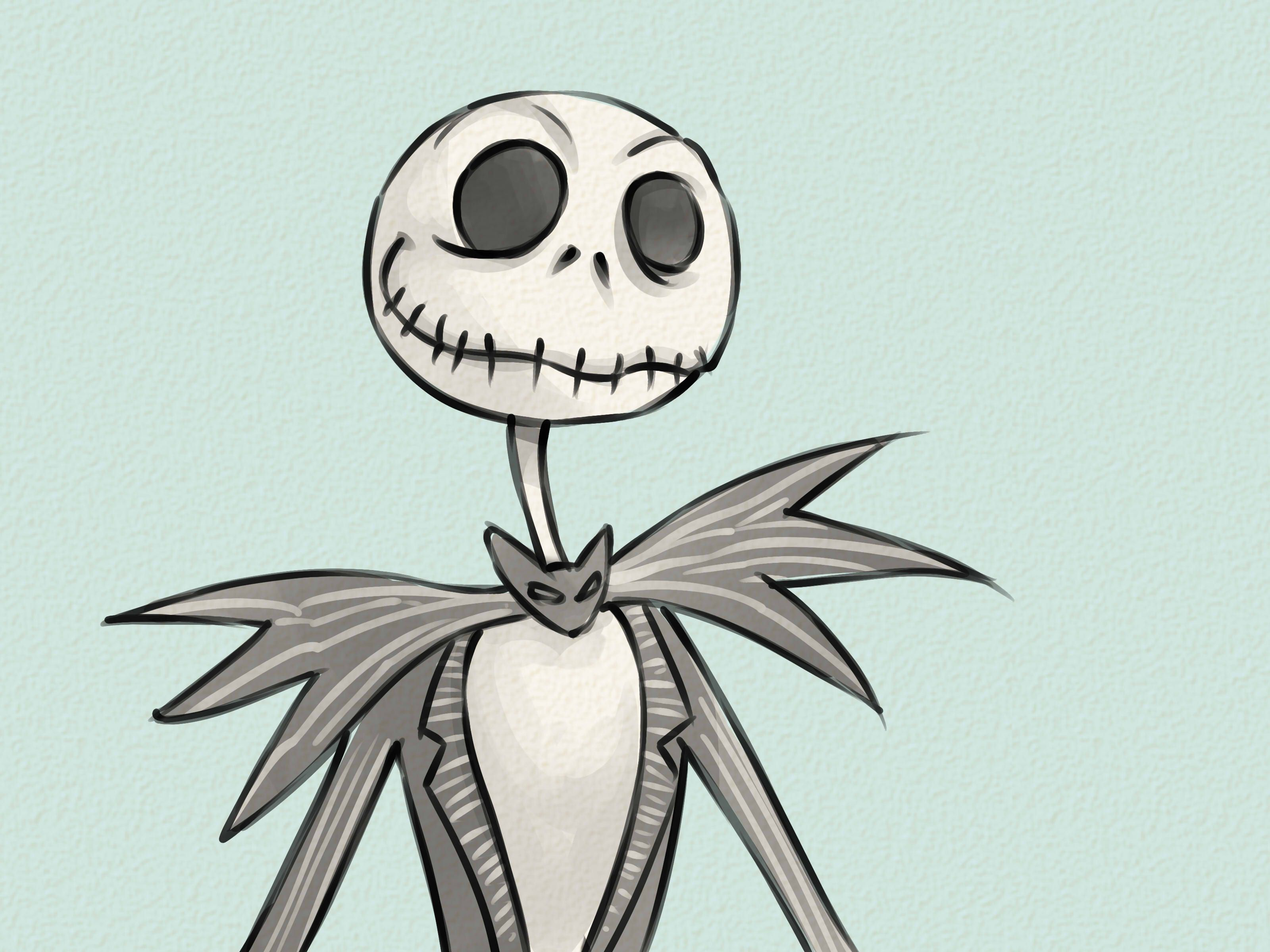 Diy jack skellington s body nightmare before christmas youtube - Draw Jack Skellington