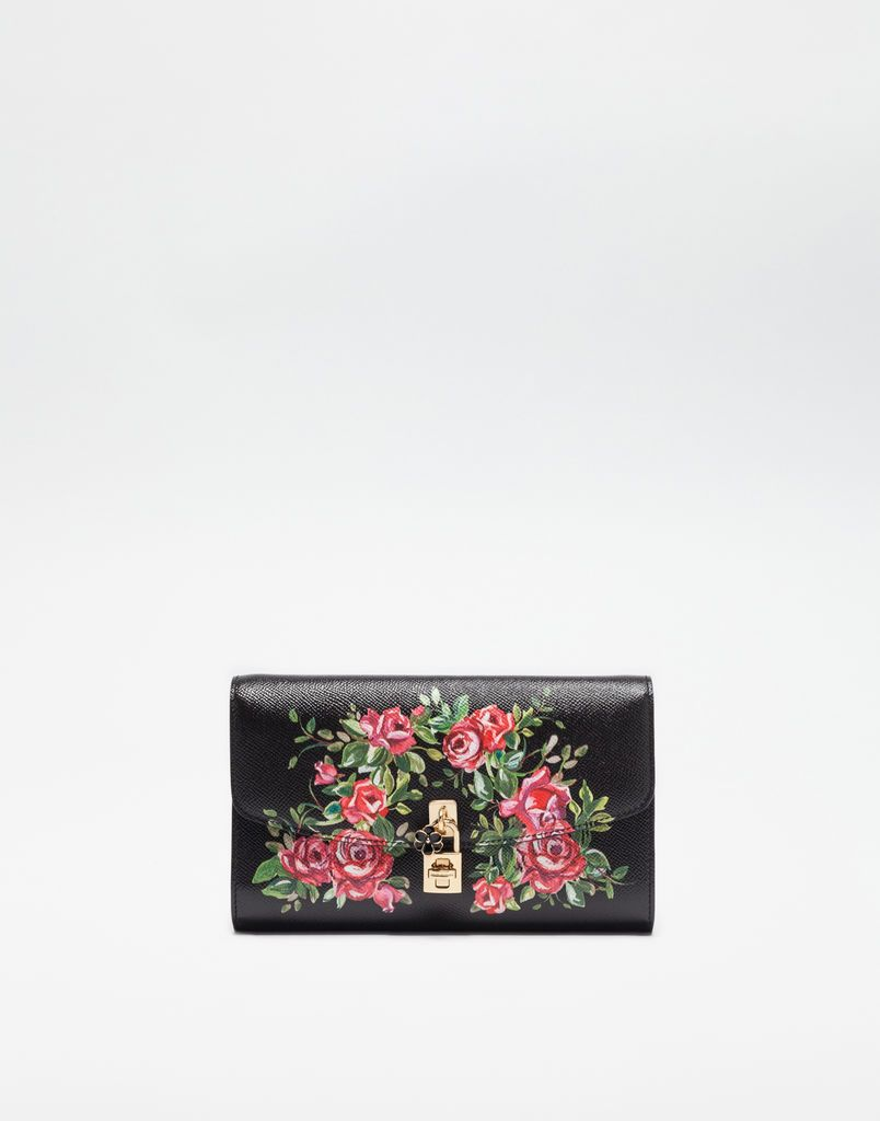 021479a2 PRINTED DAUPHINE LEATHER DOLCE CLUTCH | Fashion inspiration | Bags ...