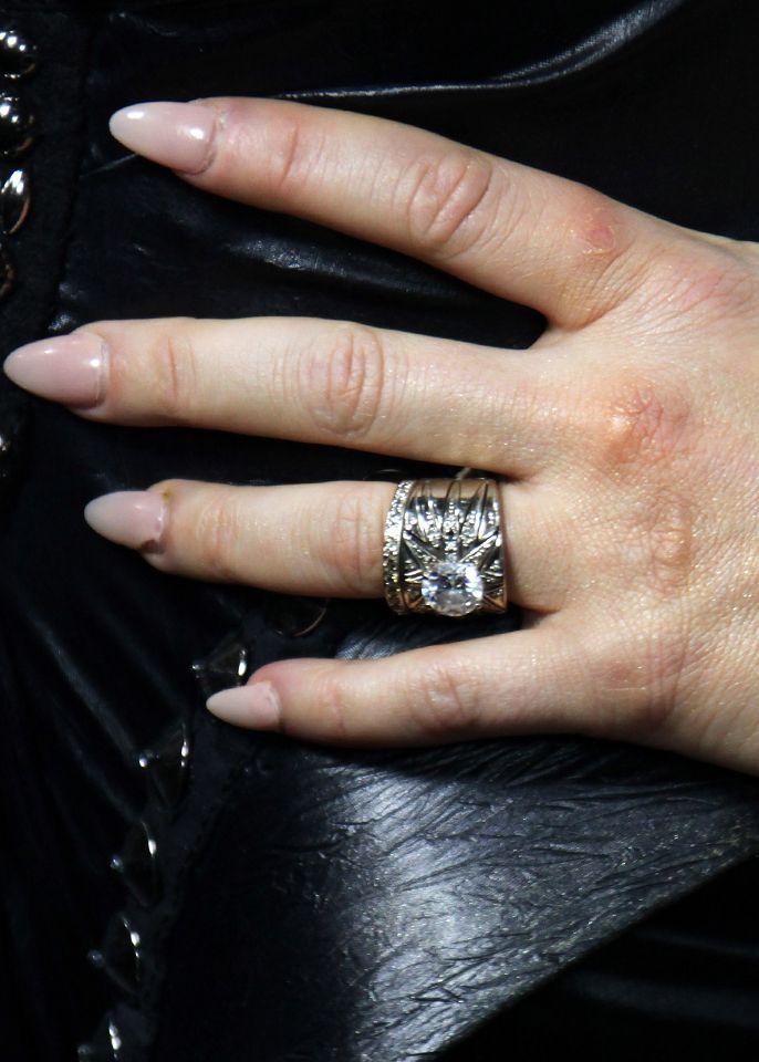 Fergie  Husband Josh Duhamel Got The Singer An H Stern. Triple Band Engagement Rings. Vintage Style Engagement Wedding Rings. Oval Shape Diamond Engagement Rings. Nenya Wedding Rings. Business Rings. Current Engagement Rings. Death The Kid Rings. Edgy Wedding Rings