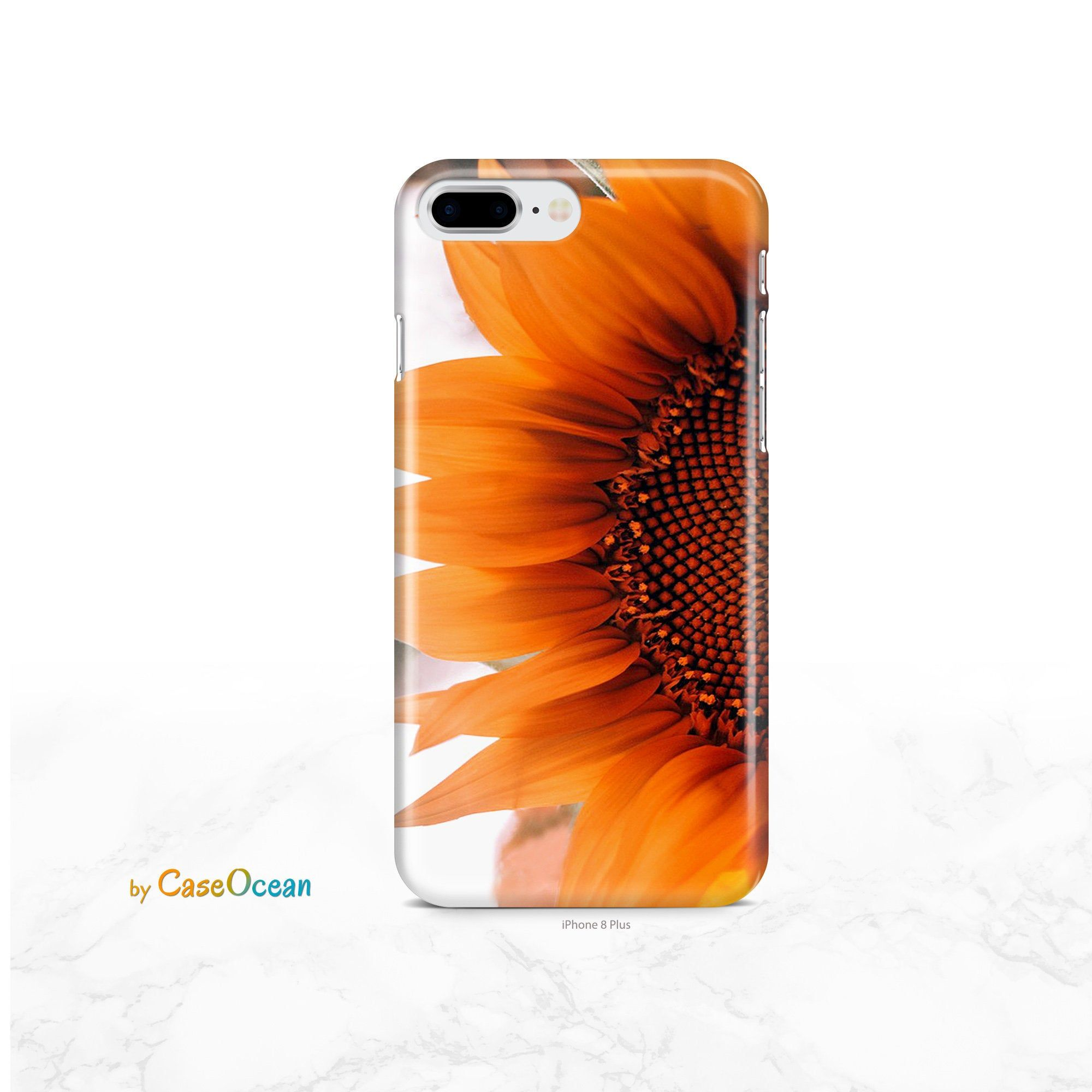 Sunflower Floral Case for iPhone 11 iPhone XR Xs X iPhone