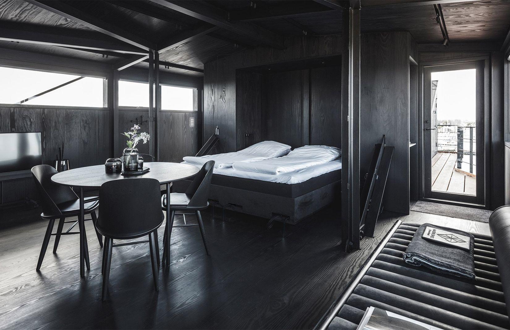 Copenhagen coal crane becomes a couples retreat and spa