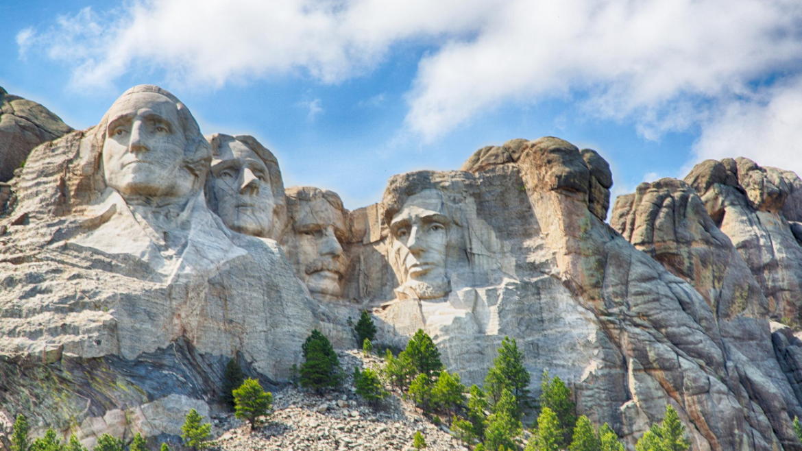 Mount Rushmore National Monument In The Black Hills Of South National Monuments Mount Rushmore Black Hills