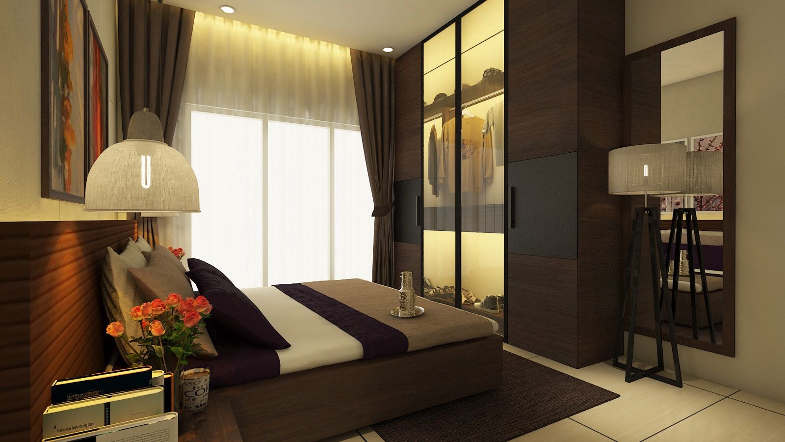 Master Bedroom Residence Sample Flat For Zara Habitats LLP Mumbai IN SAIMA SALAM Design InteriorsInterior