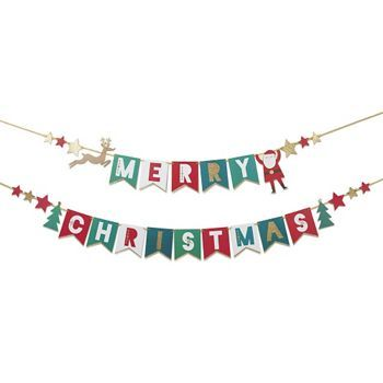 Merry Christmas Garland Kit