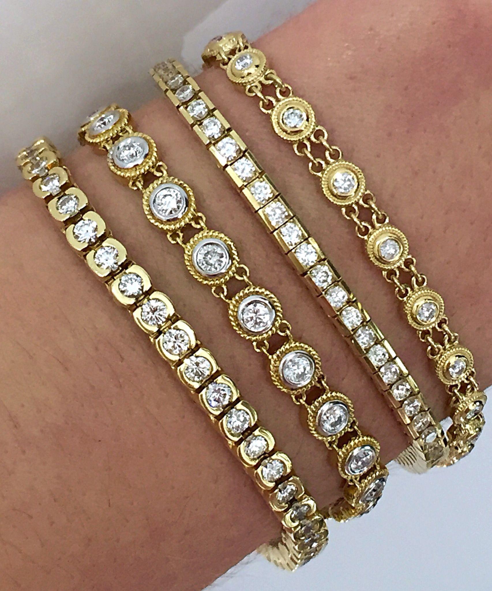 Burdeen S Jewelry Diamond Bracelet Design Tennis Bracelet Diamond Sparkly Bracelets