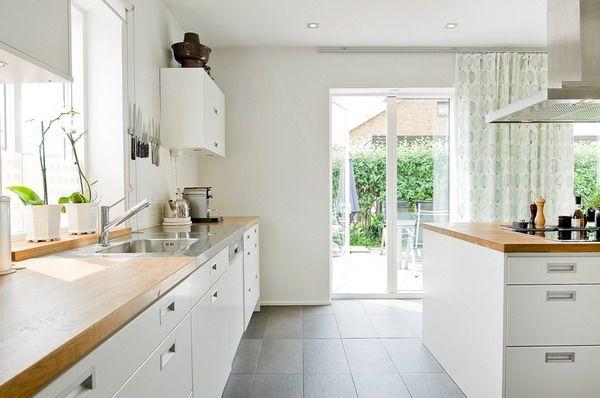 Muebles de cocina blancos Kitchens and Room