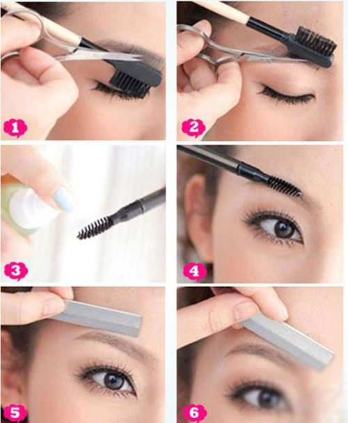 How do you groom your eyebrows