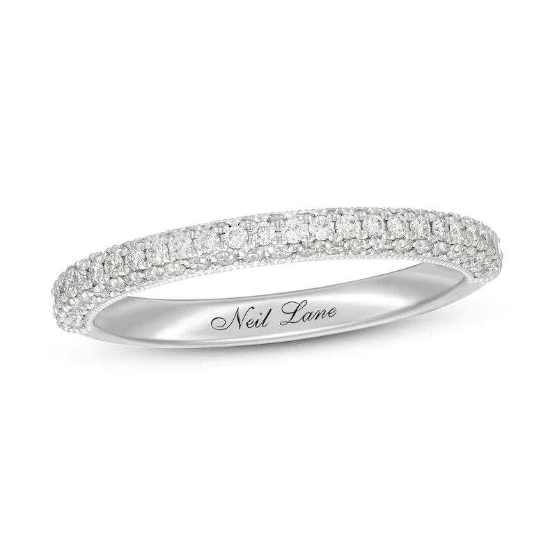 Neil Lane Diamond Wedding Band 3/8 ct tw 14K White Gold