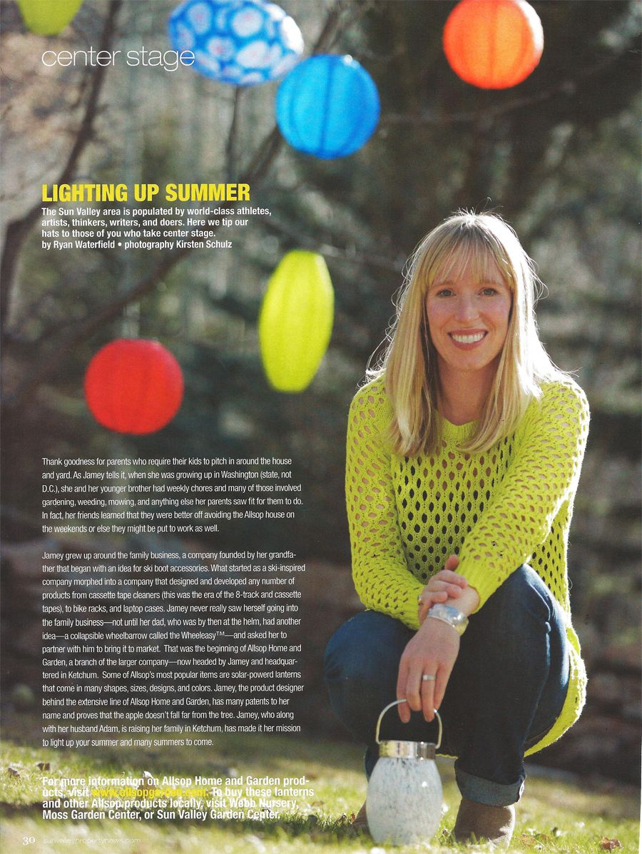 Jamey Allsop From Allsop Home U0026 Garden Featured In Sun Valley Property News  SVPN