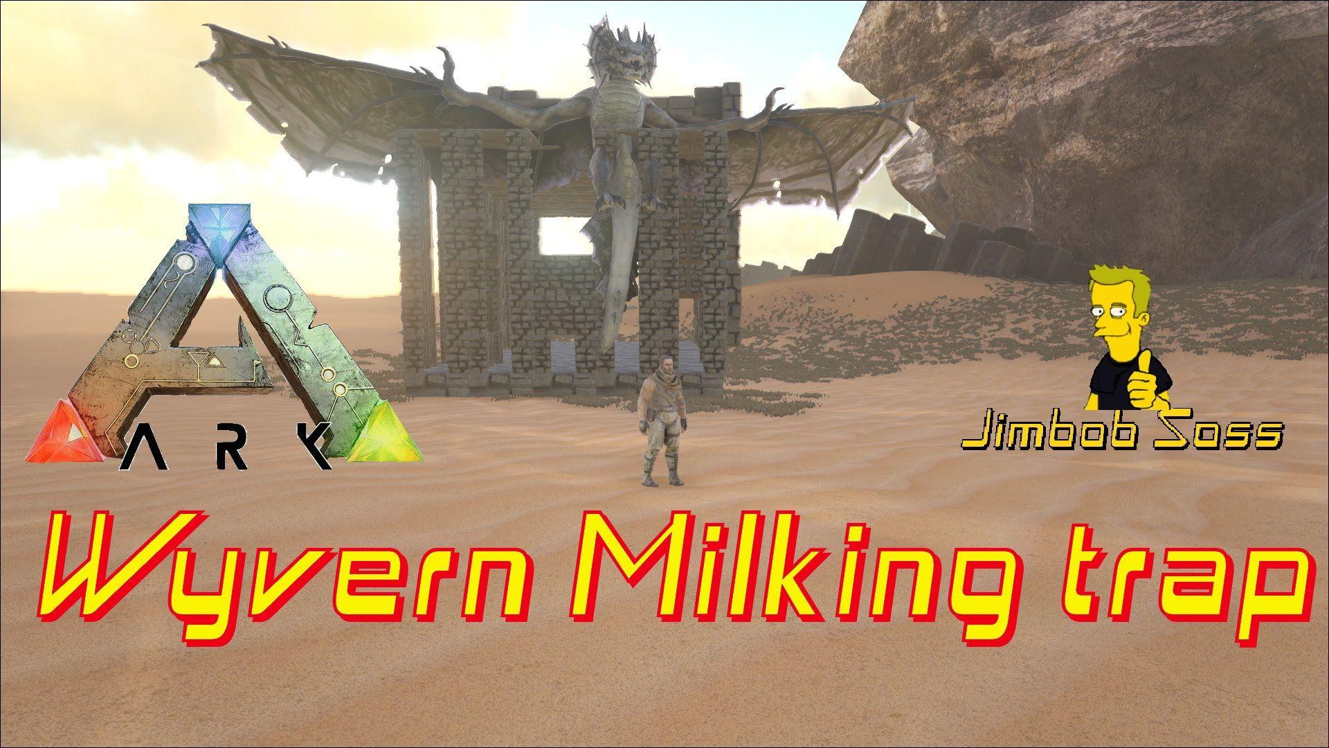 Wyvern Milking trap | Ark | Ark, Survival, Ps4 games