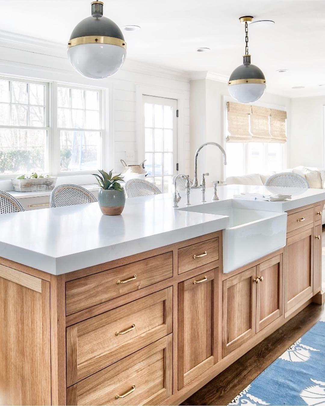 """28 Small Kitchen Design Ideas: Fᴀʀᴍʜᴏᴜsᴇ On Instagram: """"Un Peu De Modernité Avec"""