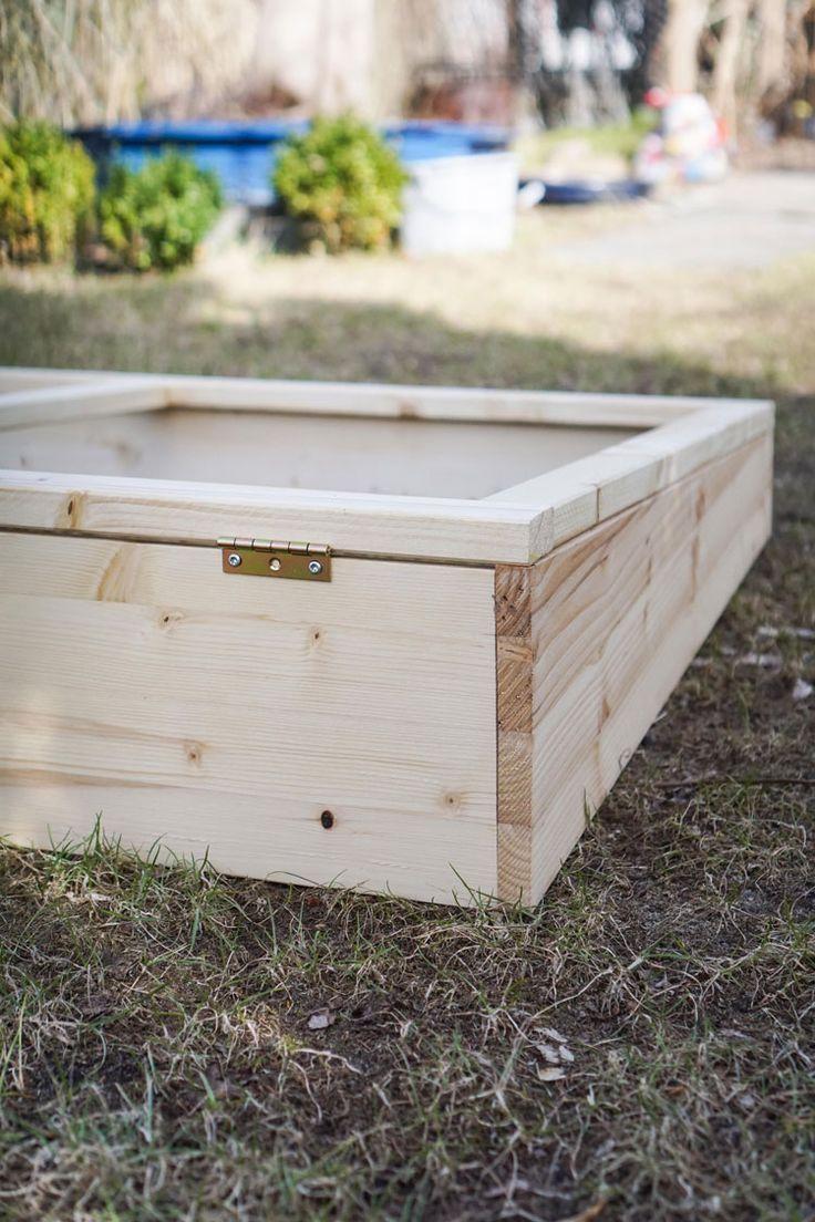 Build a cold frame yourself Diy Garden Box Ideas