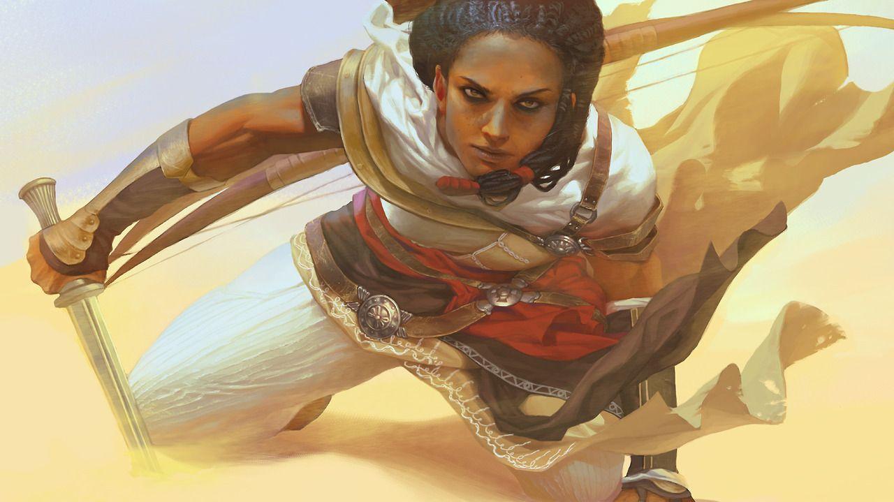 Aya Assassin S Creed Origins Fantasy Female Warrior Assassins