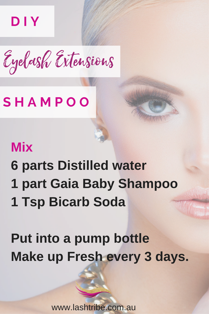 e5c9584a0e7 DIY Eyelash Extensions Recipe | If you don't have much money you can also