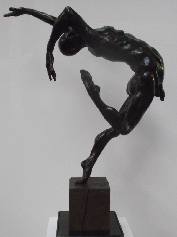 Mathurin Moreau Vintage French Bronze Nude Female Figure