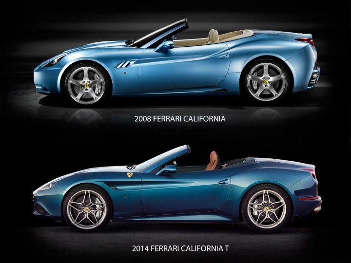 //Evolution of the Ferrari California. Click on the pic to see the NEW California T #cars