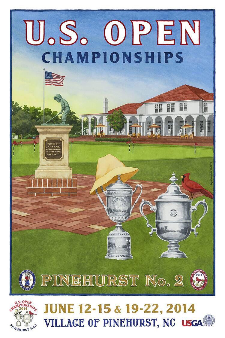 US Open & US Women's Open Pinehurst No. 2 (Finished 4