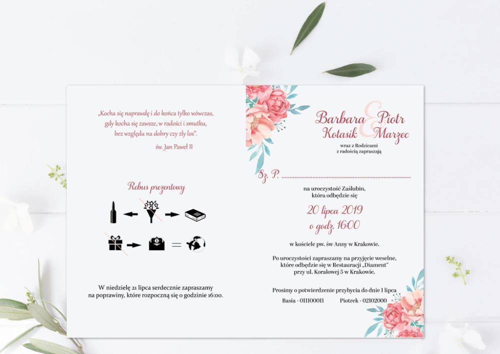 Zaproszenie Na Slub Kartka Z Kalendarza Pastelowe 8306319785 Oficjalne Archiwum Allegro Place Card Holders Invitations Wedding