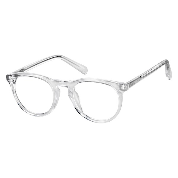185bbd86750 Zenni Kids Round Prescription Eyeglasses Clear Tortoiseshell Plastic 4433023