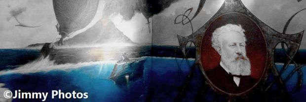 Fresque Jules Verne - ©Jimmy Photos