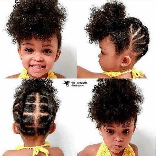 Littlegirlhaircuts Natural Hairstyles For Kids Girls Natural