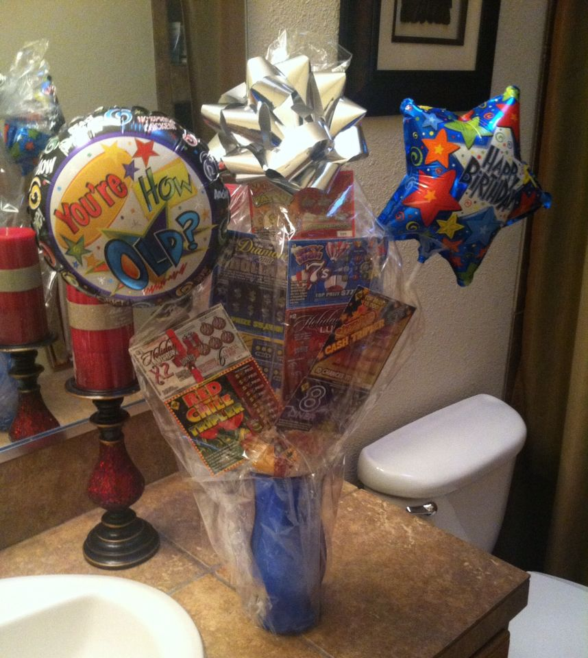 25 Inexpensive Diy Birthday Gift Ideas For Women: Birthday Gift Lottery Tickets Balloons DIY Crafts Under 25